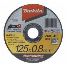 Makita  Abrazyvinis pjovimo diskas 125x0,8x22,2  B-45733