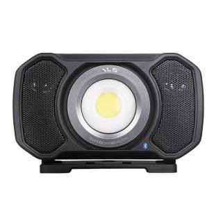 "ALS AUD202H Įkraunamas šviestuvas su ""Bluetooth"" funkcija 2000lm"