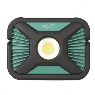 ALS SPX201R  akumuliatorinis ir laidinis LED prožektorius 2000 lm
