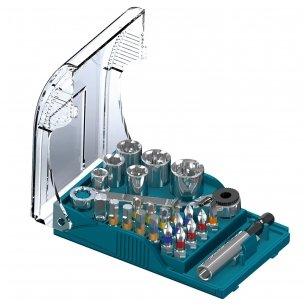 Heller Antgaliukų komplektas su terkšle 24vnt  universal bits