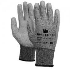 Apsauginės pirštinės Majestic Cut 3, atsparumas pjūviams 3/B, nailonas/HPPE/spandeksas, PU delnas, dydis 10/XL