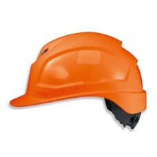 Apsauginis šalmas Uvex Pheos IES, oranžinis 51-61cm, akinių adaperis, ratukinis reguliatorius. Maksimaliam komfortui.