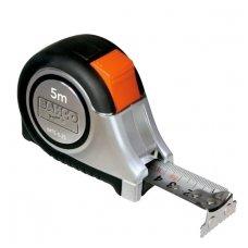 Bahco MTS 8mx25mm nerūdijančio plieno gumuota magnetinė ruletė
