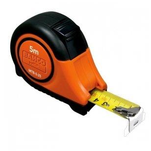 Bahco MTB 5mx25mm gumuota magnetinė ruletė