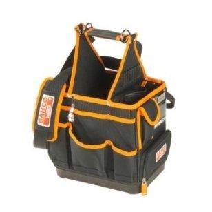 Bahco Atviras tekstilinis elektriko krepšys su daugybe kišenių 4750FB3-12 285x190x285mm
