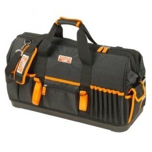 """Bahco Uždaras krepšys su daugybe vidinių ir išorinių kišenių, kieto plastiko dugnu 24"""" 600x230x370mm"""