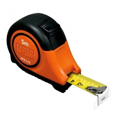 Bahco MTB 8mx25mm gumuota ruletė