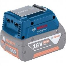 Bosch GAA 18V-24 Professional USB įkroviklis (Be akumuliatorio 18V ir kroviklio)