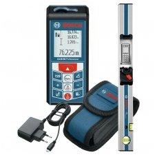 Bosch Lazerinis atstumų matuoklis Bosch GLM 80 + matavimo bėgelis R60