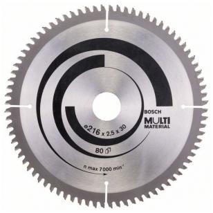 Bosch Diskinis pjūklas 216x20x2,5 T80 Multi Material 2608640447