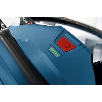 Bosch GAS 18v-10 L akumuliatorinis dulkių siurblys (18V, be akumuliatorių ir kroviklio)  3
