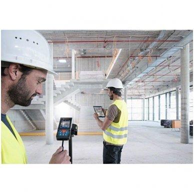 Bosch GLM 120 C Bluetooth atstumų matuoklis 5