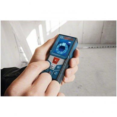 Bosch GLM 50 C Lazerinis atstumų matuoklis su Bluetooth funkcija 5