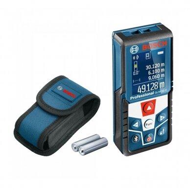 Bosch GLM 50 C Lazerinis atstumų matuoklis su Bluetooth funkcija 2