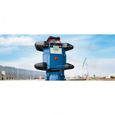 Bosch GRL 600CHV + BT160 + GR240 rotacinis lazeris komplektas 4
