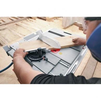 BOSCH GTS 10 XC pjovimo staklės + darbo stalas GTA 6000 5