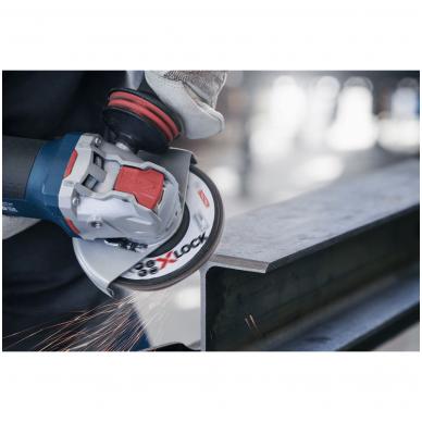 Bosch Žiedlapinis šlifavimo diskas  X-LOCK Ø125 mm P120 2