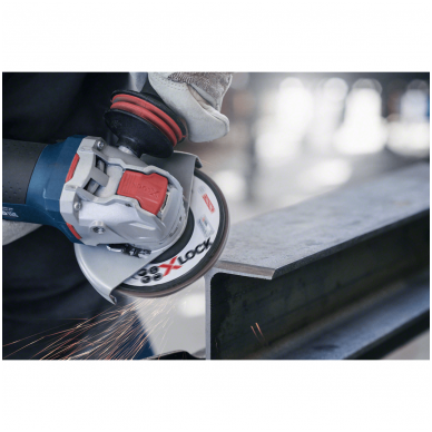 Bosch Žiedlapinis šlifavimo diskas  X-LOCK Ø125 mm P40 2