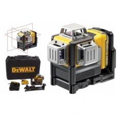 DeWALT DCE089D1R kryžminių linijų lazeris