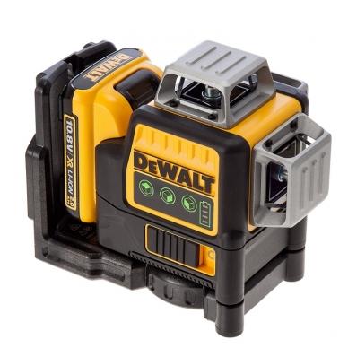 DeWALT DCE089D1G kryžminių linijų lazeris + DeWALT lazerio detektorius 2