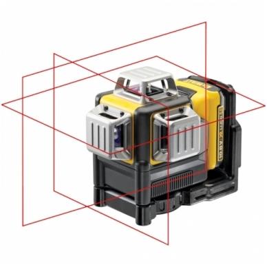 DeWALT DCE089D1R kryžminių linijų lazeris 2