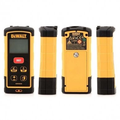 DeWALT DW03050 lazerinis atstumų matuoklis