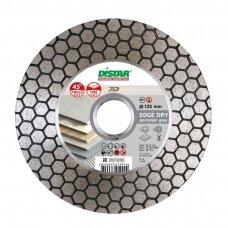 Distar deimantinio pjovimo ir šlifavimo diskas keramikai, akmens masei, porcelianui Ø125x22,2