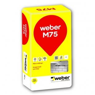 weber M75 Cementinis mūro mišinys 25 kg popierinis maišas