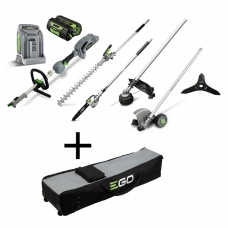 EGO Power+ MHSC2002E Daugiafunkcinis sodo įrankių komplektas + krepšys (56V 5.0Ah)
