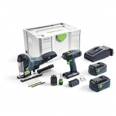Festool Akumuliatorinių įrankių rinkinys montažui T 18+3/PSC 420 Li I-Set (575696)