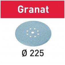Festool Šlifavimo popierius STF D225 Granat  ( 25vnt )