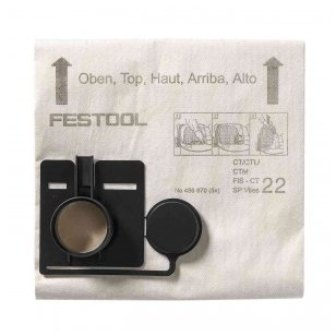 Festool Filtro maišas FIS-CT 22 SP VLIES  (456870)