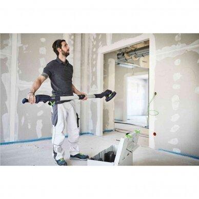FESTOOL PLANEX LHS 2 225 EQI-Plus Sienų ir lubų šlifavimo įrankis (575990) 7