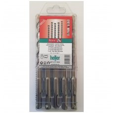 Heller Rinkinys SDS-PLUS  6;8;10x100 Bionic Pro 168953