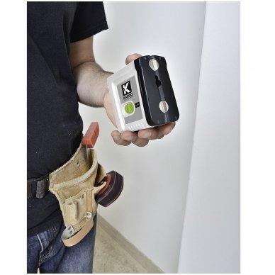KAPRO Mini Lazerinis gulsčiukas 862G, Žalias spindulys , 2 linijos 3