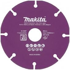 Makita Deimantinis diskas metalui pjauti 125x1,3x22,2 B-53693