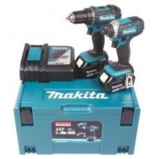 Makita DLX2127MJ akumuliatorinių įrankių rinkinys