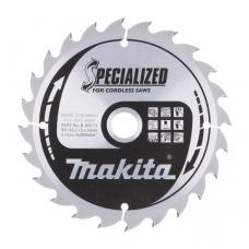 Makita Pjovimo diskas 165x20x1,5mm 24T B-09173
