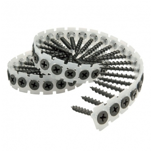 Makita 3.9x25mm  GKP sraigtai metalui juostoje (1000vnt)  F-31227