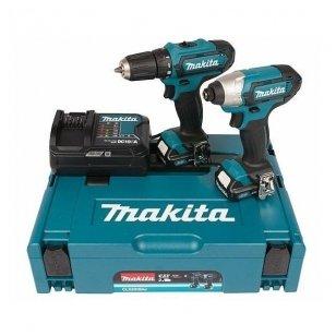 Makita CLX201SAJ įrankių rinkinys  (DF331DZ + TD110DZ)