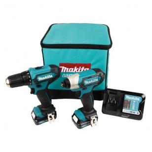 Makita CLX224A Įrankių rinkinys (DF333D + TD110D)