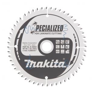 Makita Pjovimo diskas laminatui 165x20mm 52T  B-29452