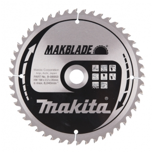 Makita Pjovimo diskas 190x20x2,3mm T48 B-08953