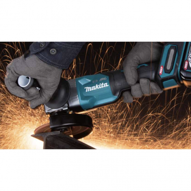 Makita GA005GZ XGT®  Kampinis šlifuoklis (40V Komplektuojamas be akumuliatoriaus ir kroviklio) 5