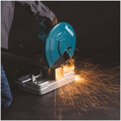 Makita LW1400 metalo pjaustyklė 2