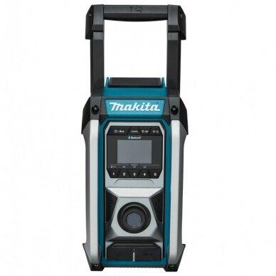 Makita MR002G Radijas su Bluetooth funkcija (XGT, LXT, CXT, 220V, Be akumuliatorių ir kroviklio) 2