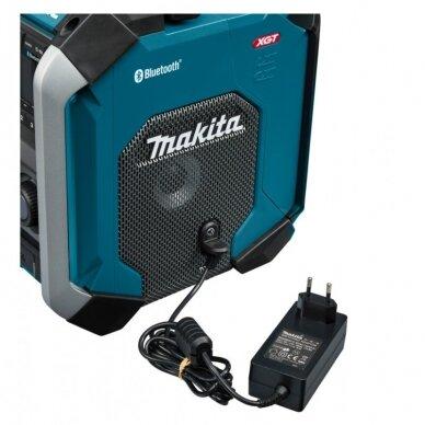 Makita MR002G Radijas su Bluetooth funkcija (XGT, LXT, CXT, 220V, Be akumuliatorių ir kroviklio) 5
