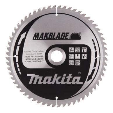 Makita Pjovimo diskas 260x30x2,3mm 60T B-09020