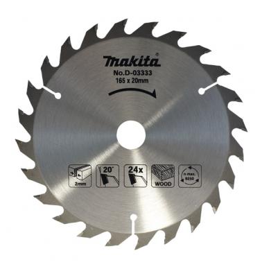 Makita Pjūklo diskas 165x20x24T  D-03333
