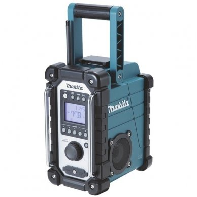 Makita radijas DMR107 (7,2 - 18V / 230V  be akumuliatorių ir kroviklio)
